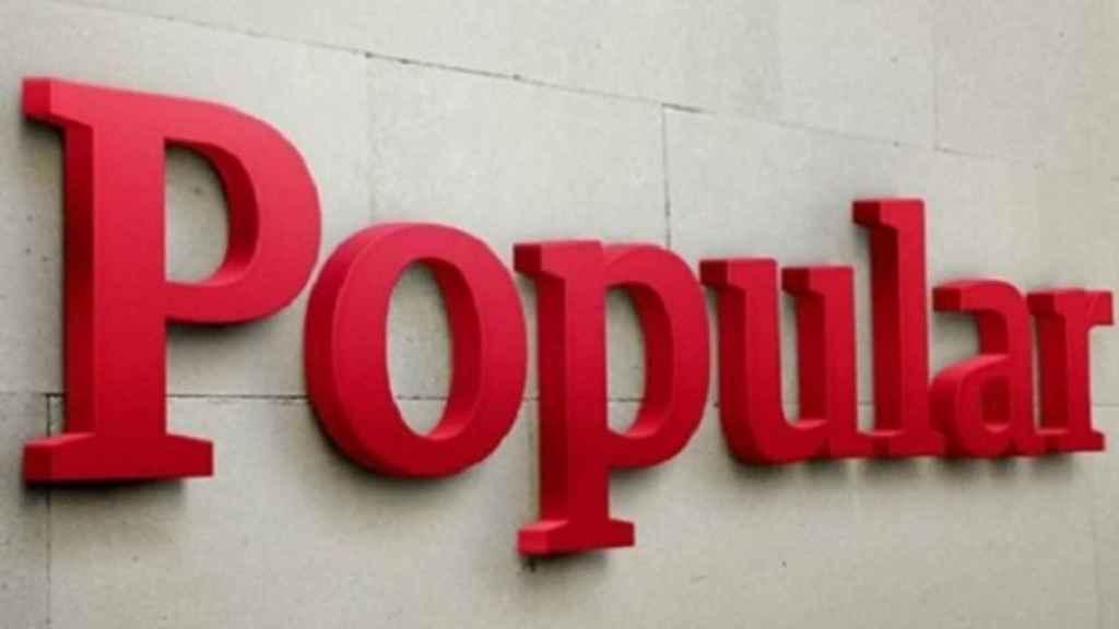 Logotipo del antiguo Banco Popular.
