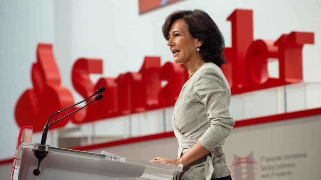 Ana Botín ingresará este jueves 1,21 millones por el tercer dividendo a cuenta de Santander