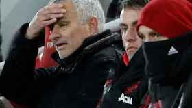 Mourinho, en el partido ante el Liverpool