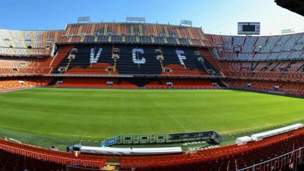 España  jugará en Mestalla su primer partido de clasificación para la EURO 2020
