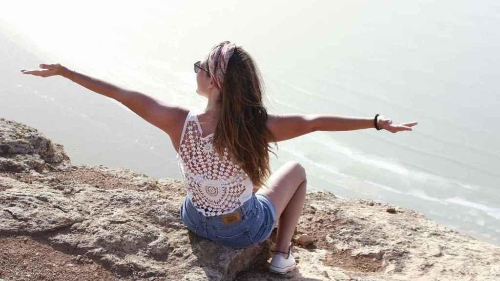 Laura Luelmo en una imagen en la playa