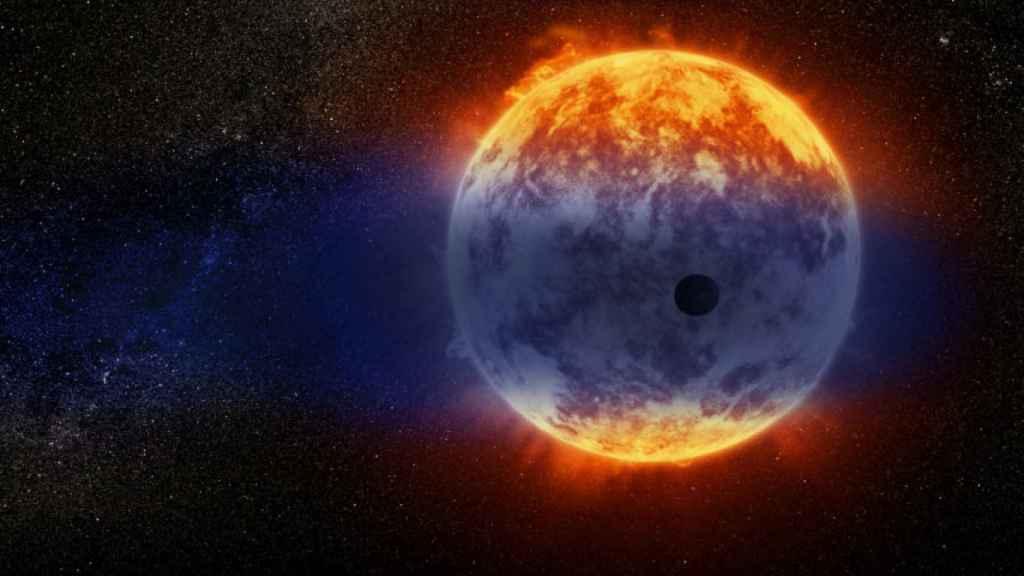 Representación gráfica de la extinción de un planeta de masa similar a Neptuno
