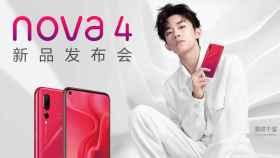 Huawei Nova 4: agujero en pantalla y triple cámara trasera