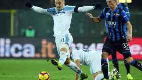Milinkovic-Savic en un partido frente al Atalanta
