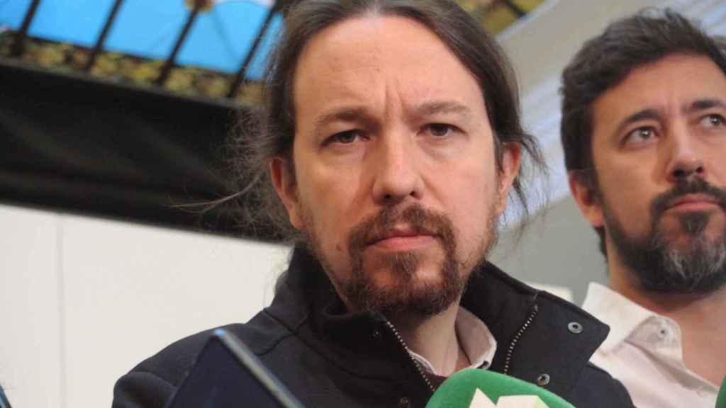 Pablo Iglesias, en la reunión del espacio Rumbo 2020, su gobierno en la sombra.