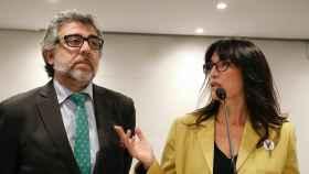 Jordi Pina y Pilar Calvo.