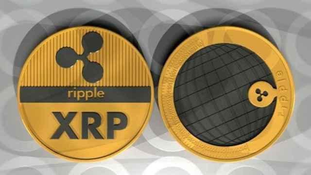 Imagen alegórica de monedas de Ripple.