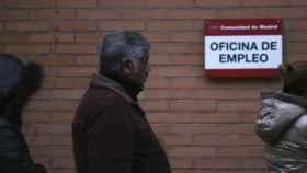 Una oficina de Empleo.