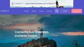 Finect_pantalla