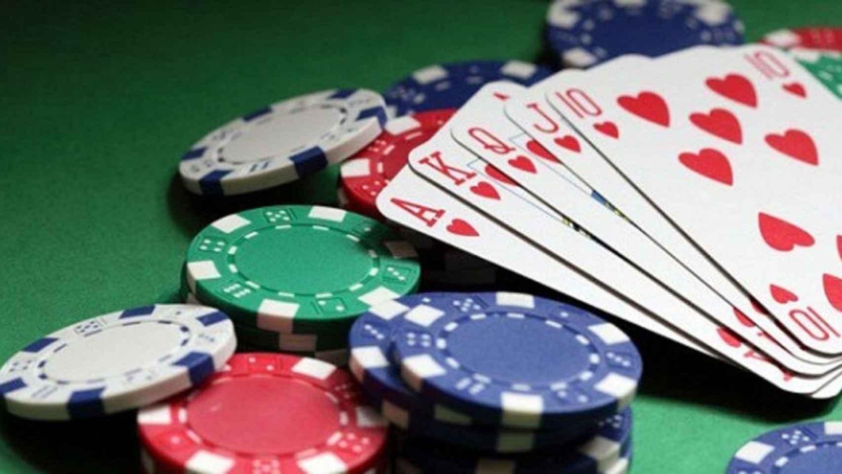 Imagen sobre juegos de azar.