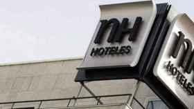 Logo de NH.