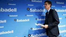 Jaume Guardiola, consejero delegado de Banco Sabadell.
