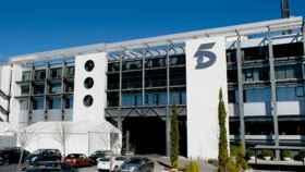 Sede de Mediaset España, en una imagen de archivo.