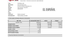 Acta de la OJD que confirma el nuevo récord de El Español con 36,9 millones de usuarios únicos.