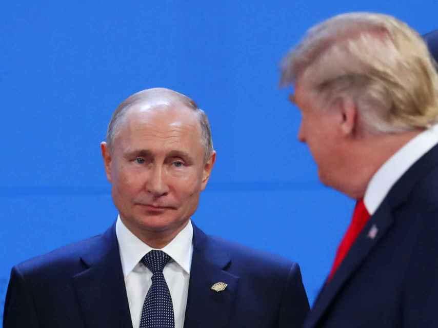 Putin y Trump coincidieron en el G20 de Buenos Aires
