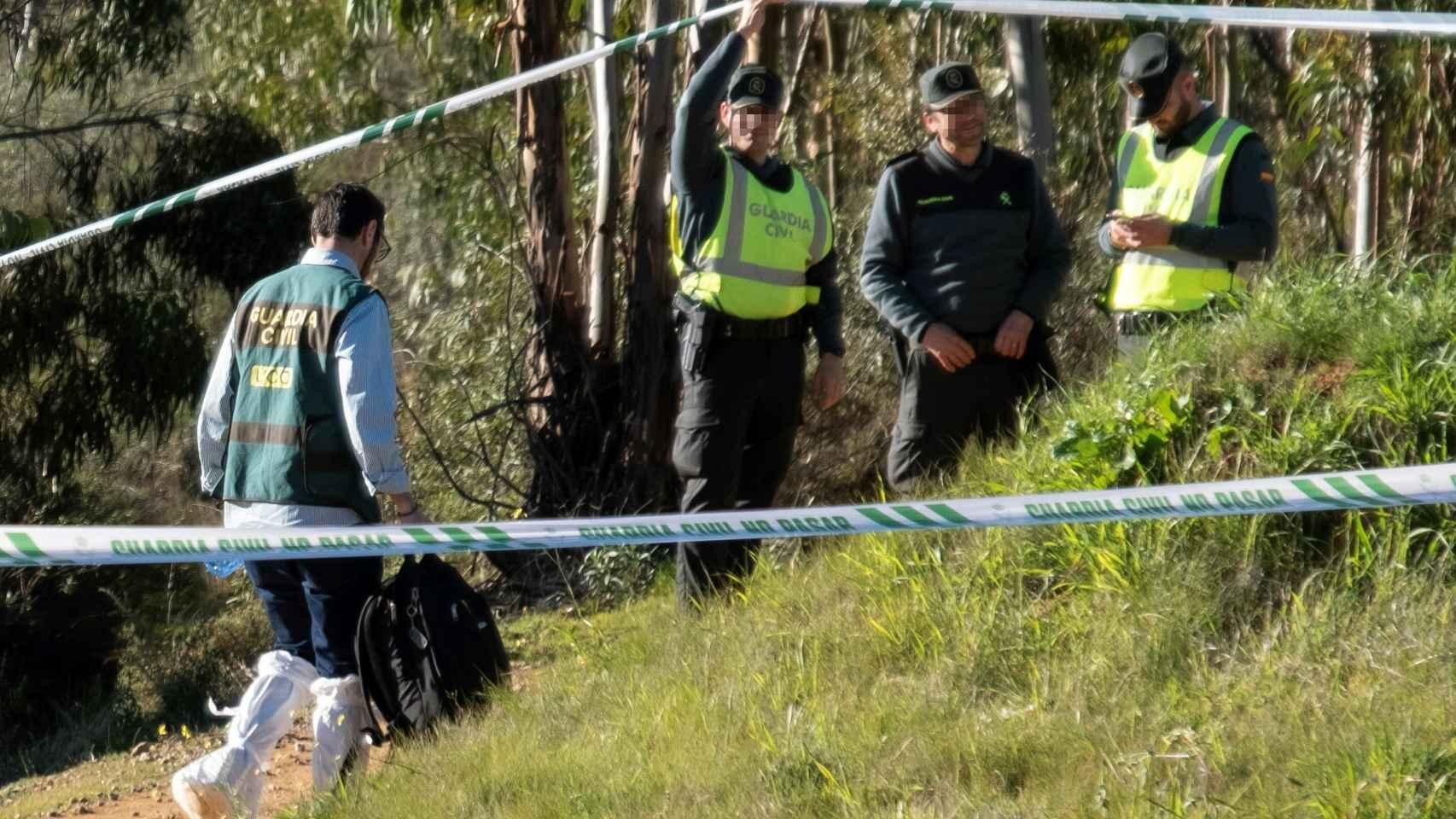 Lugar en el que se ha encontrado el cuerpo sin vida de Laura Luelmo