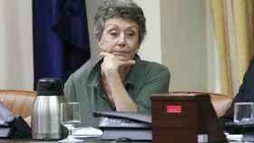 Rosa María Mateo, administradora única de RTVE, en una comparecencia parlamentaria.