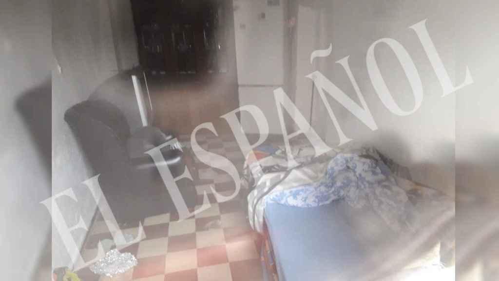 Así es por dentro la 'casa guarida' desde la que Bernardo Montoya controlaba a Laura Luelmo