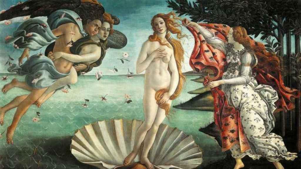 El cuadro 'El nacimiento de Venus', de Botticelli.