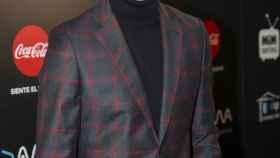 Miguel Ángel Muñoz posando en el photocall de los Premios Mim