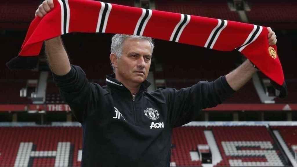 Mourinho en Old Trafford