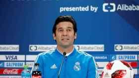 Solari, en rueda de prensa del Mundial de Clubes