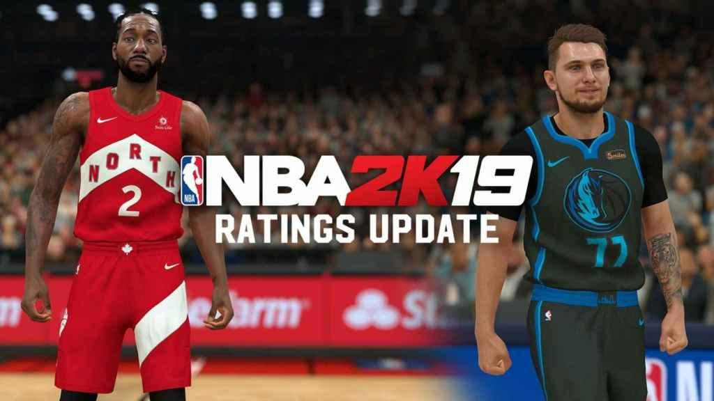 Las nuevas valoraciones de los jugadores del videojuego NBA 2K19 (@NBA2K)
