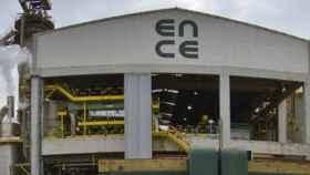 Una de las factorías de Ence.