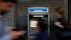 Cajero del Banco Sabadell.