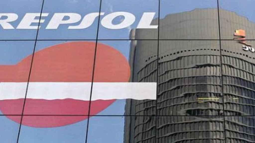 El logo de Repsol en una imagen de archivo.