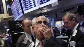 Imagen de un broker de Wall Street.