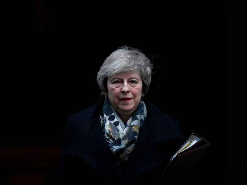 May, a la salida de Downing Street