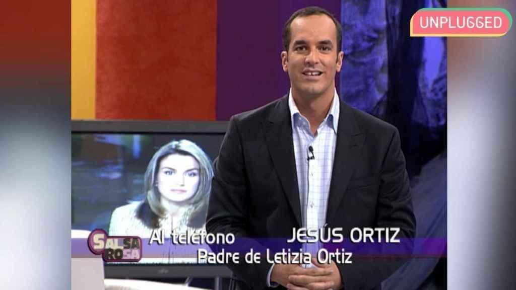 Jesús Ortiz interviene en el programa 'Salsa rosa' de Telecinco.