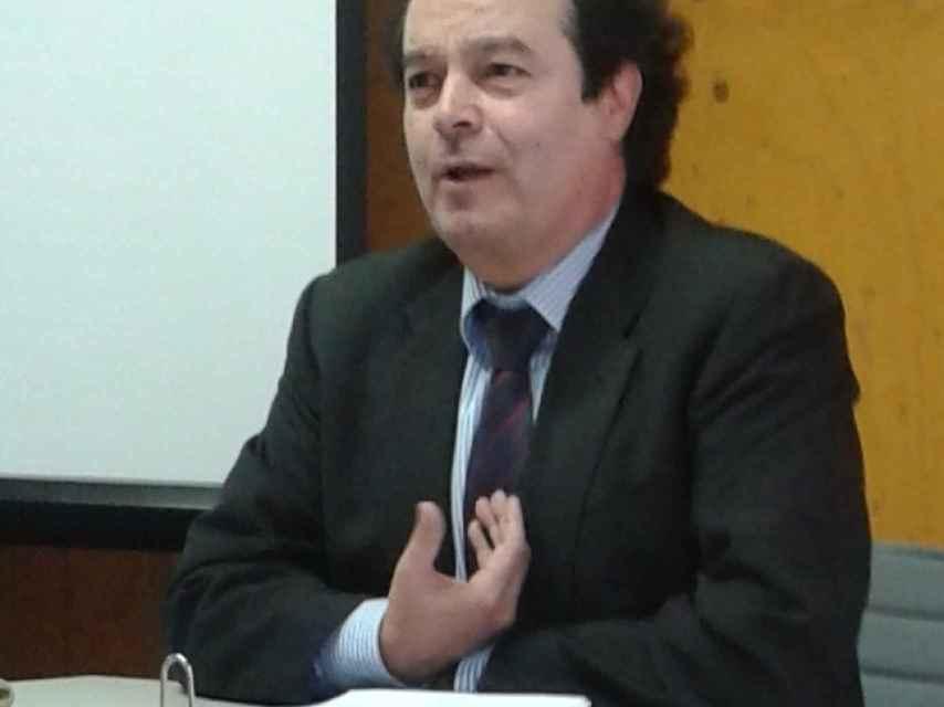 Fernando García en una imagen de la web de su bufete.