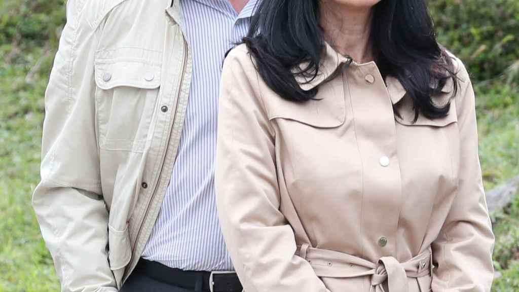 Jesús Ortiz y su mujer, Ana Togores, el pasado 8 de septiembre en Asturias.