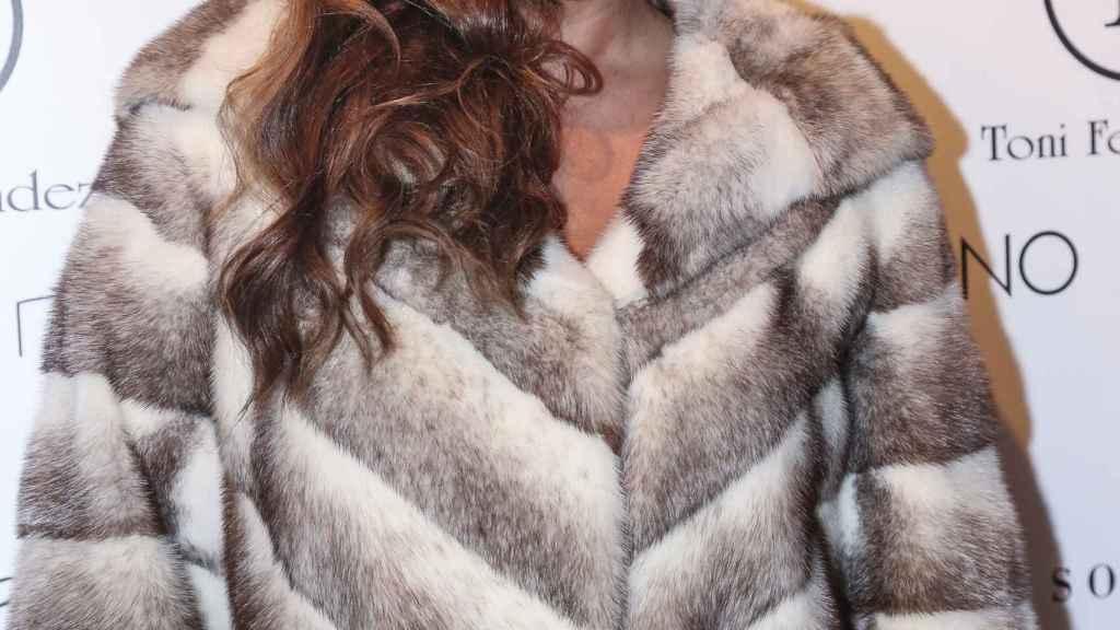 Marisa Jara en su reaparición profesional.
