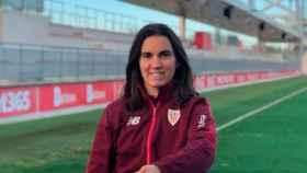 Eunate Arraiza, jugadora sorda del Athletic Club