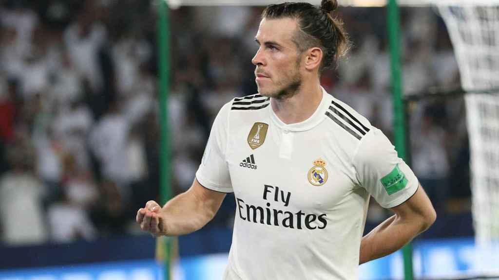 Gareth Bale celebra su gol durante la semifinal del Mundial de Clubes