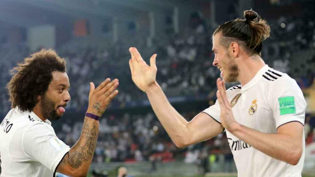 Marcelo y Gareth Bale