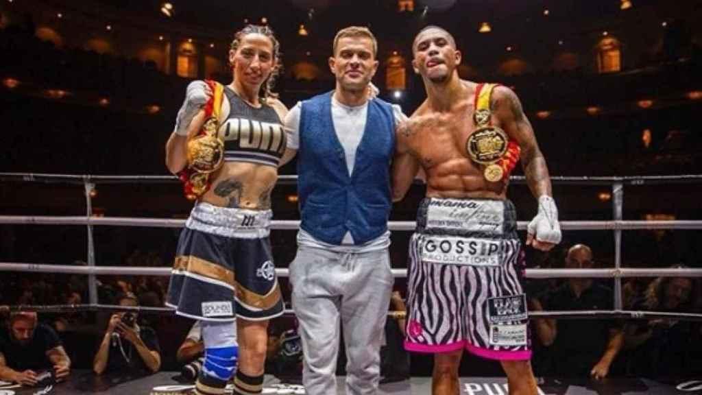 Jeniffer Miranda, tras proclamarse campeona de España de boxeo profesional. Instagram: (jennifer_miranda_box)