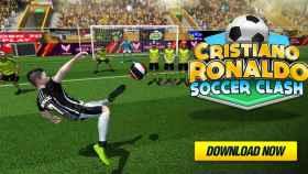 Cristiano Ronaldo y su nuevo juego de fútbol, descárgalo gratis