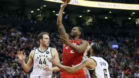 Partido entre los Toronto Raptors y los Indiana Pacers