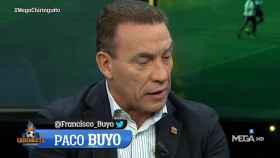 Paco Buyo en El Chiringuito. Foto: (@elchiringuitotv)