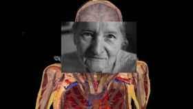 El cuerpo de Susan Potter en el Visible Human Project / National Geographic.