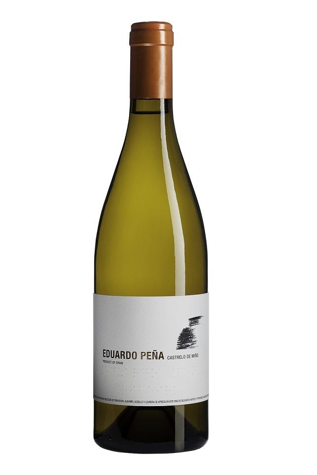 Eduardo Peña. botella