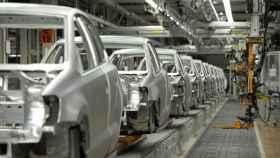 Fábrica de vehículos, en una imagen de archivo.