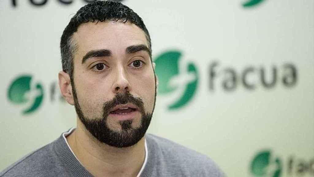 El portavoz de FACUA, Rubén Sánchez