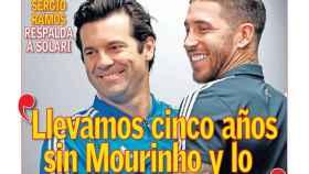 La portada del diario AS (22/12/18)
