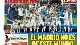 La portada del diario MARCA (23/12/18)