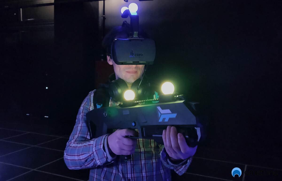 Probamos la realidad virtual de Zero Latency, ya en Barcelona